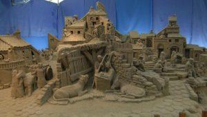 Presepe di sabbia a Bellaria