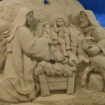 Presepe di sabbia a Ravenna
