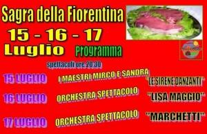 Sagra della fiorentina a Poggio Torriana