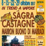 Sagra delle castagne a Marradi 2017