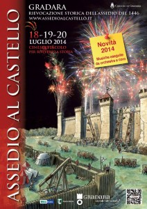 assedio castello gradara 2014